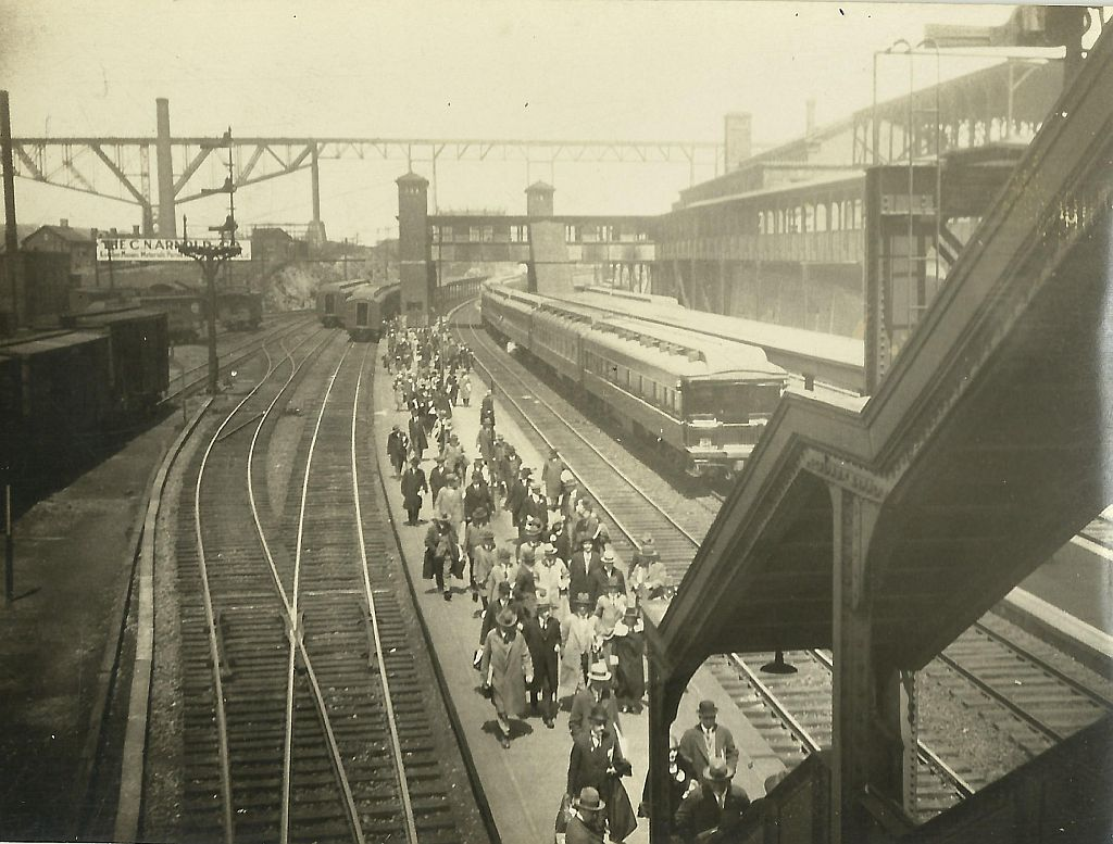 Treinstation New York (mei 1926)