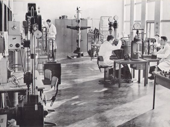 Mechanisch laboratorium Smit Transformatoren (1954 - 1956)